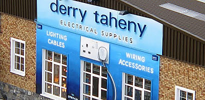 Derry Taheny Electric Storefront